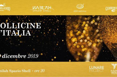 Bollicine d'Italia il Christmas party 2019 del Nabilah Spazio Shell